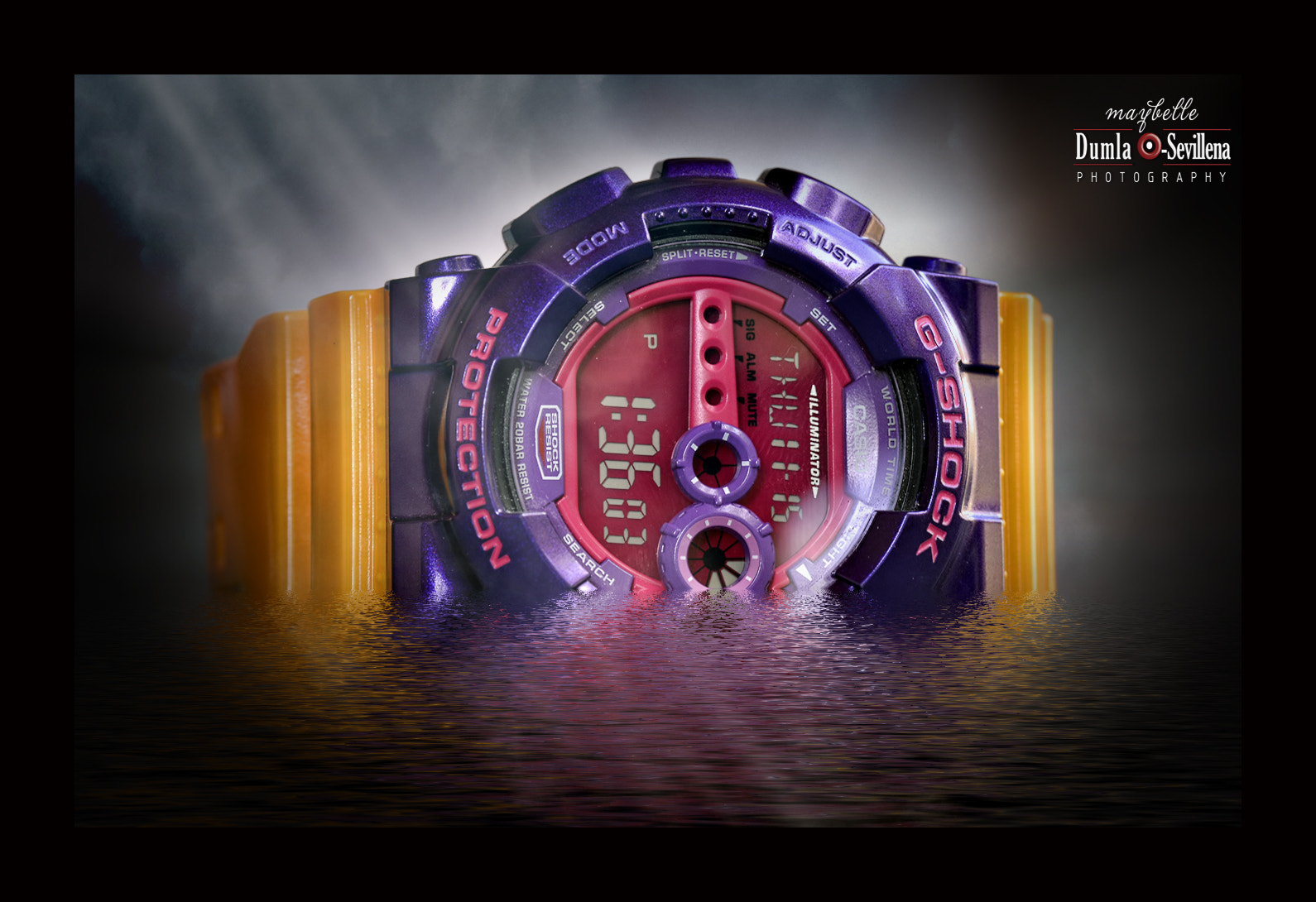 Photograph Tough means gshock :-)  by Maybelle Dumlao- Sevillena on 500px