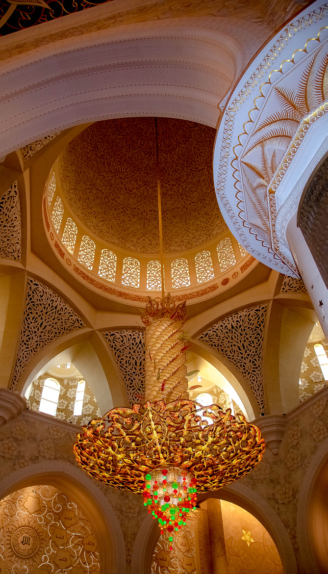 Photograph Curves in the Grand Mosque by julian john on 500px