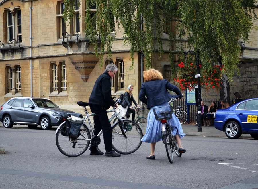 Most of them concern bicycling, Oxford, UK by Sandra on 500px.com