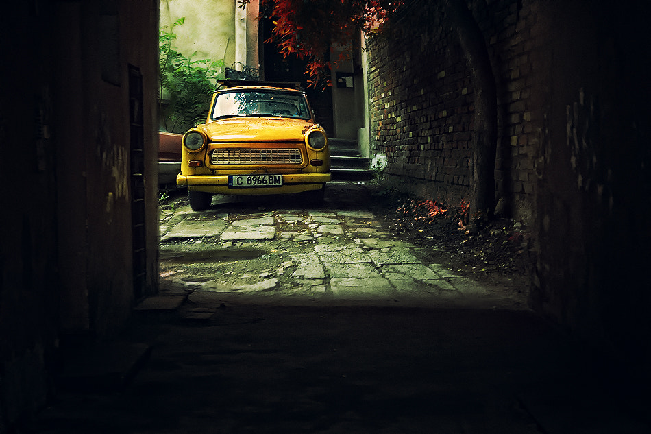 Photograph The yellow Trabant by Silvia Georgieva on 500px