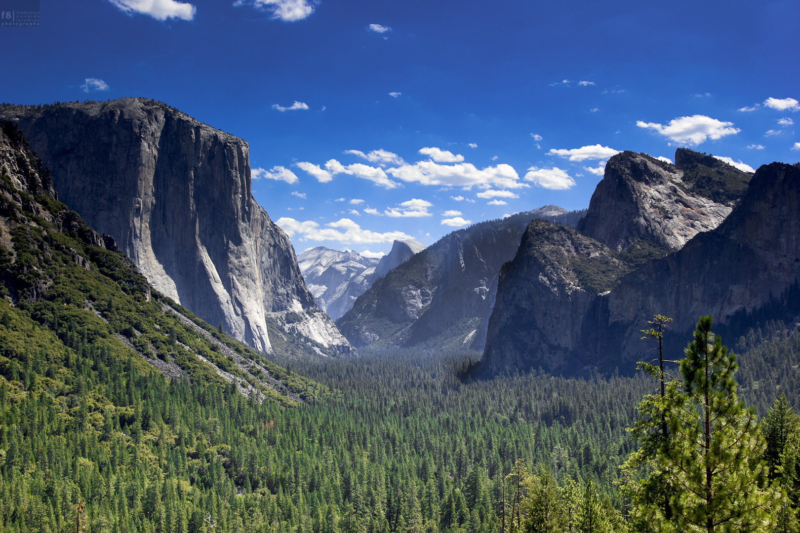 Photograph Tunnel View -Yosemite by Francesco Riccardo Iacomino on 500px