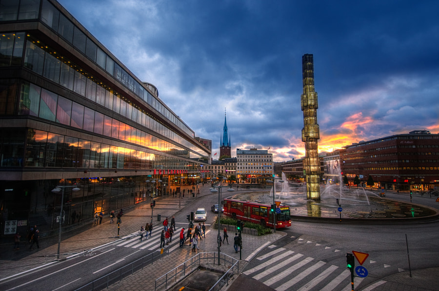 Photograph Sergels torg by César Asensio on 500px