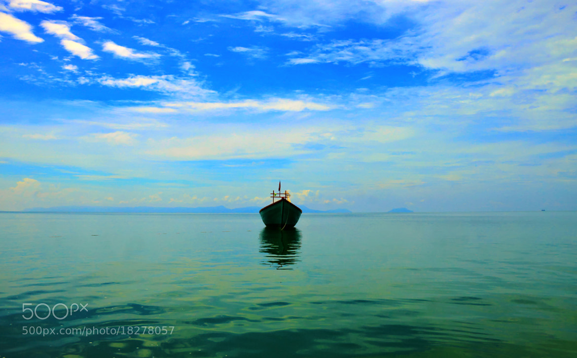 Photograph Sky Vs Boat  by Soaline Orn on 500px