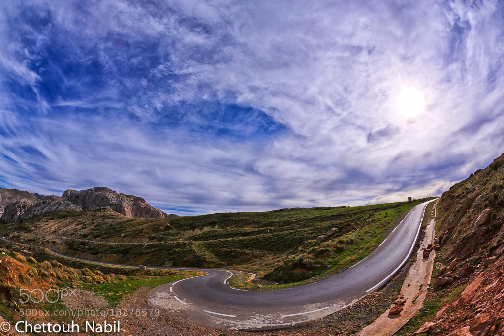 Photograph The Curve by Nabil CHETTOUH on 500px