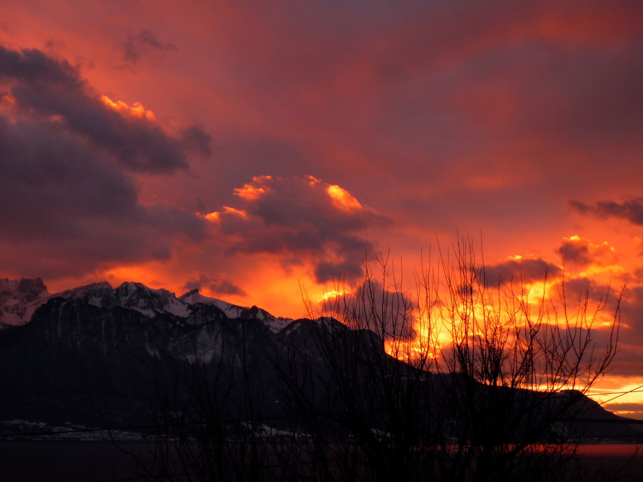 Photograph Burning sky by Charlotte Frey on 500px