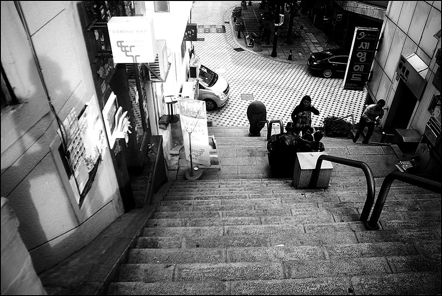 Photograph the steps  by D W Kim on 500px