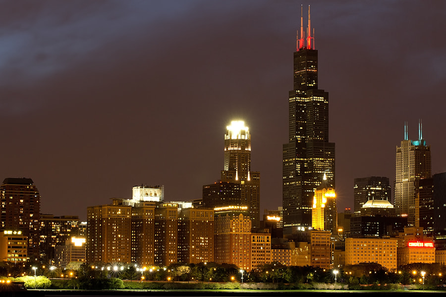 Photograph Sears Tower by D. Tarasov on 500px