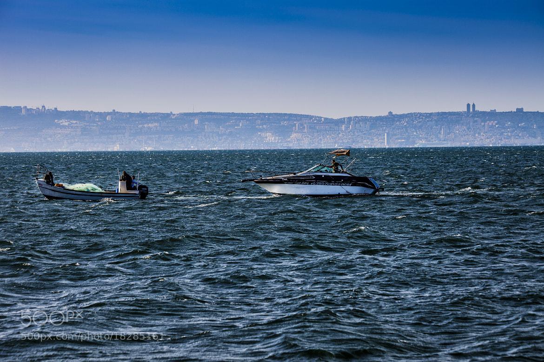 Photograph Fishing boats by Yaniv Nisinman on 500px
