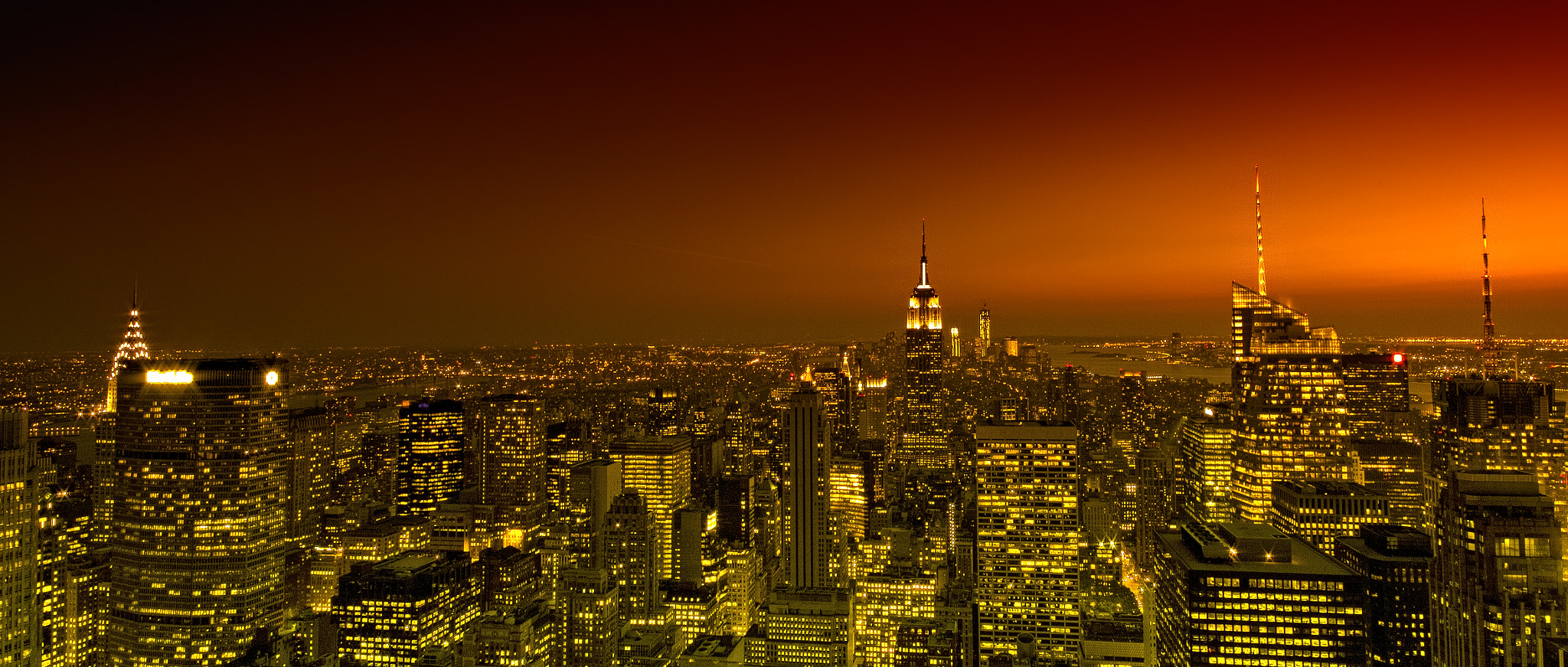 Photograph Top Of The Rock - New York by Alan Cook on 500px