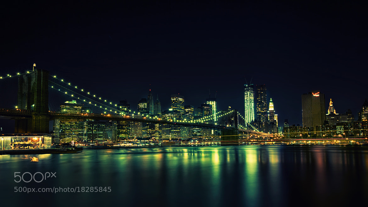 Photograph the bridge one night by Anurag Yagnik on 500px