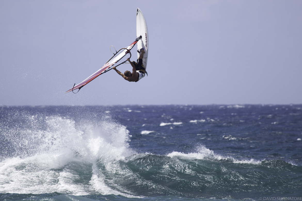 Photograph Maui windsurf by David Seminatore on 500px