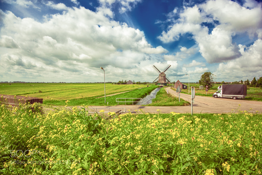 Photograph Windmill by Bruce Noronha on 500px