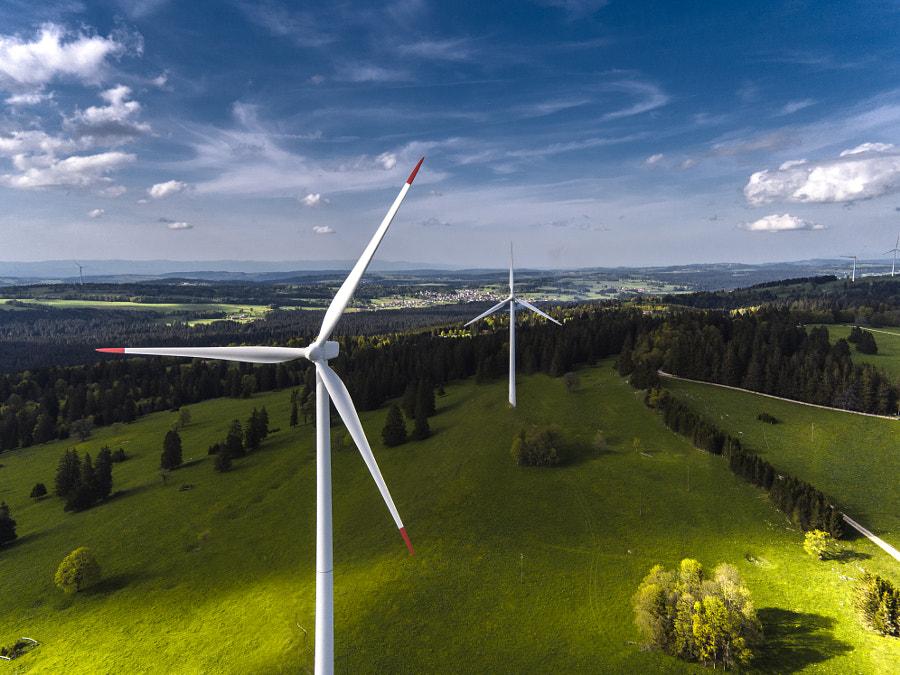Wind turbines by Julia Wimmerlin on 500px.com
