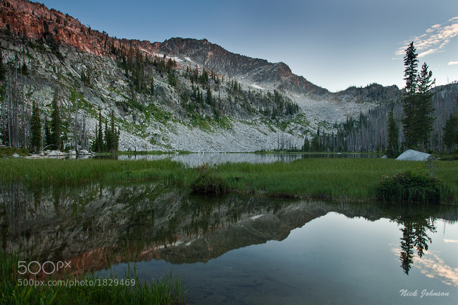 Photograph Rain Mountain Reflection by Nicklaus Johnson on 500px