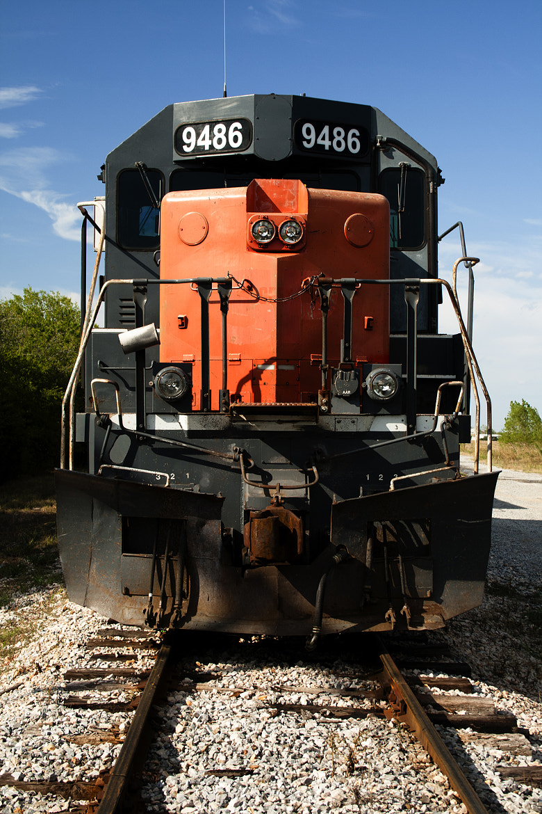 Photograph Train head on by Eric Ziegler on 500px