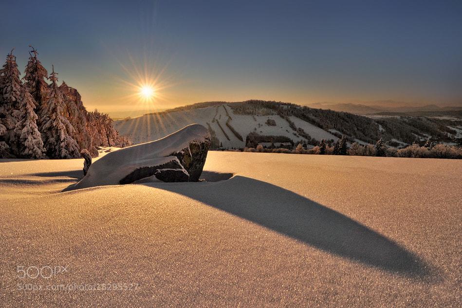 Photograph Snowy Stone... by Pawel Kucharski on 500px