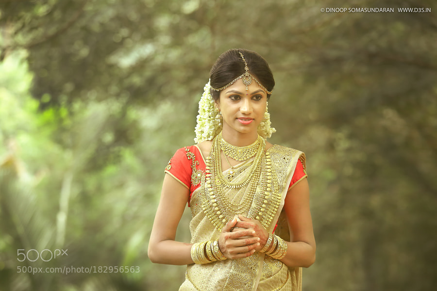 Gorgeous South Indian Bride Before Wedding