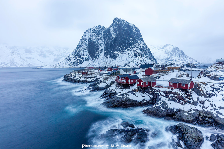 Reine before storm by Andy ZHANG on 500px.com