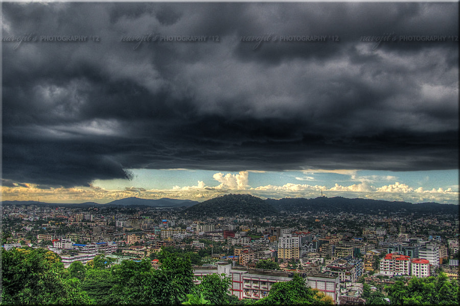 Photograph The Dark Day Rises...!! by Navojit Bhuyan on 500px