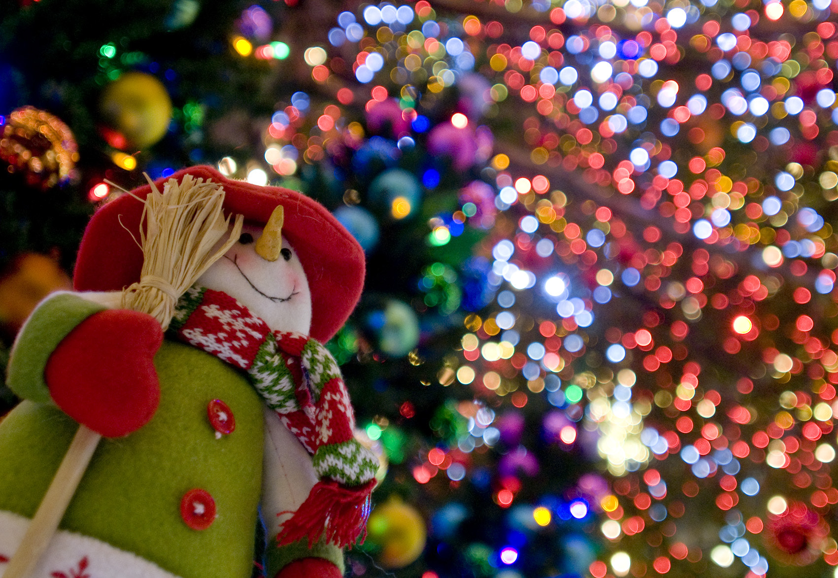 Photograph Snowman in Twinkle by Masato Sawamura on 500px