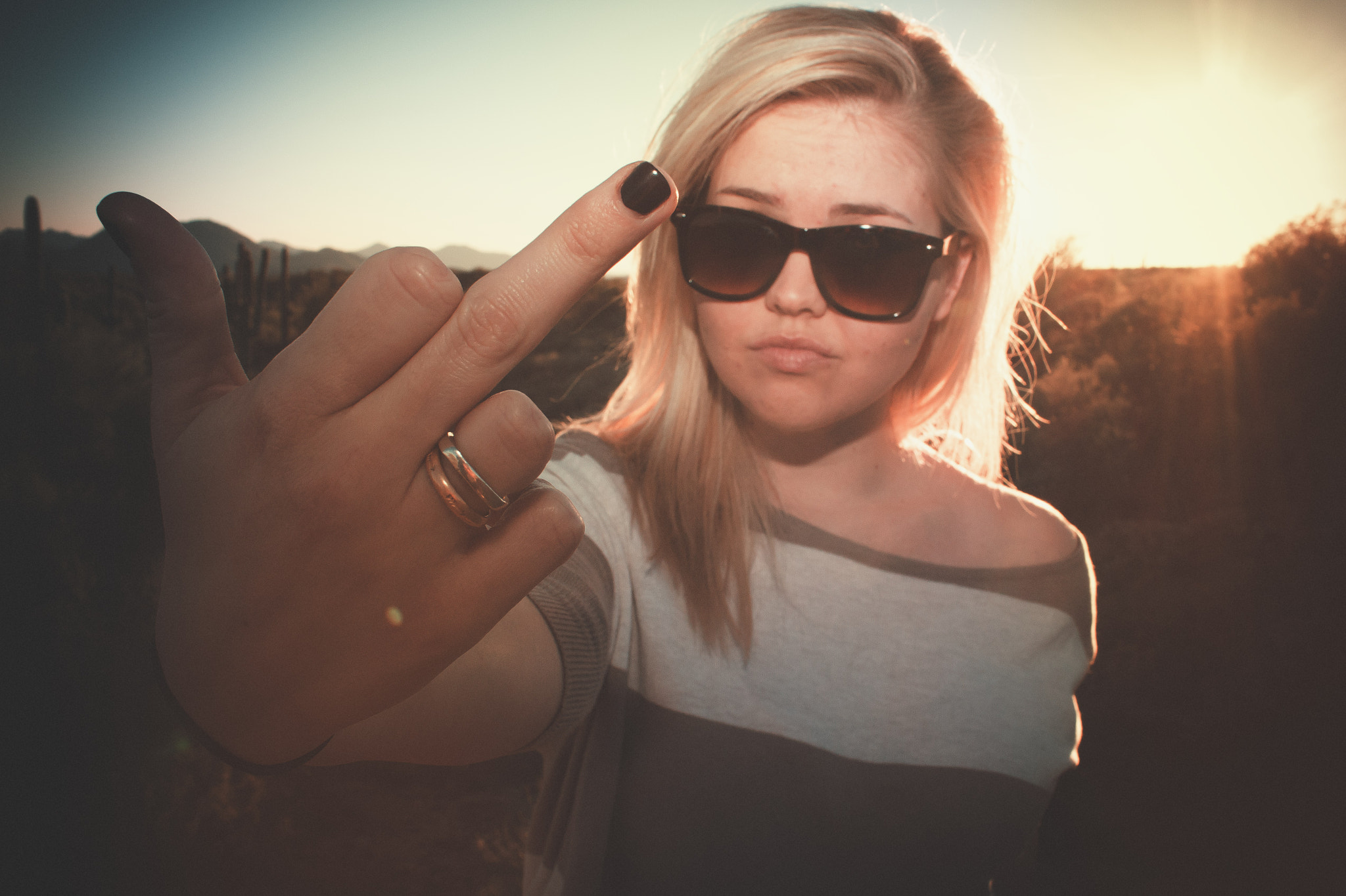 Photograph Fuck You! by Casey Dooley on 500px