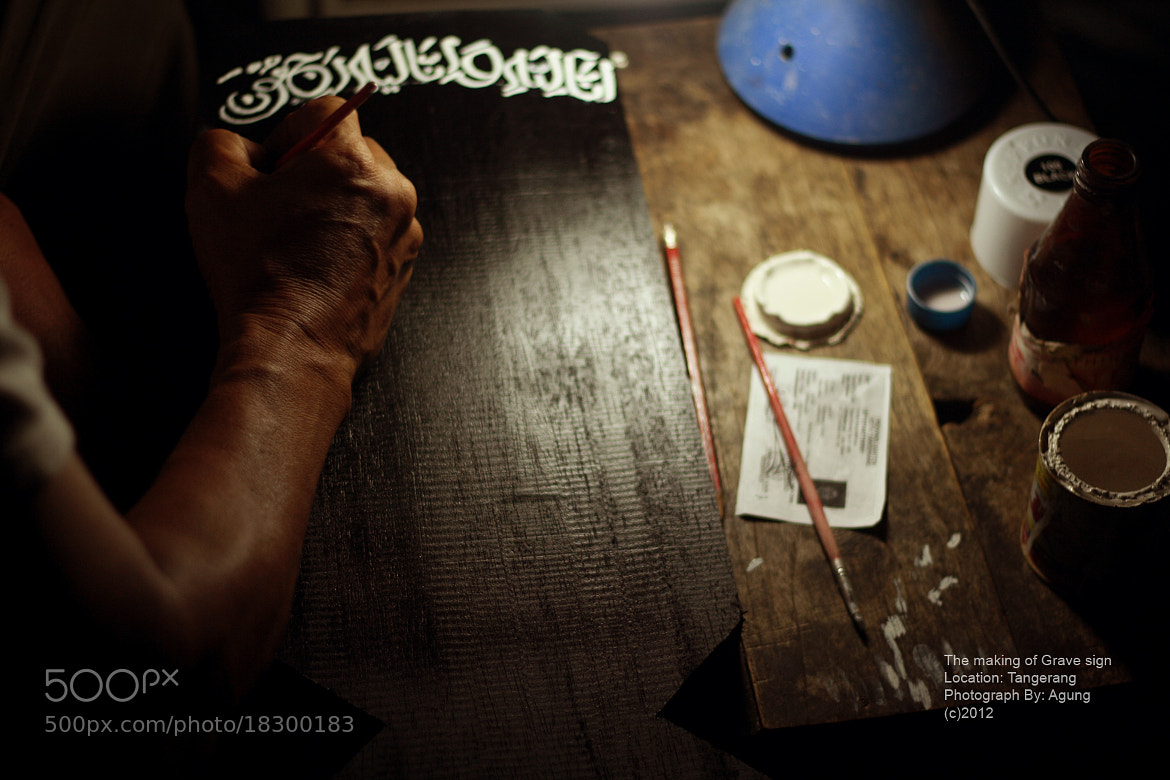 Photograph making The grave sign by Agung Laksana on 500px