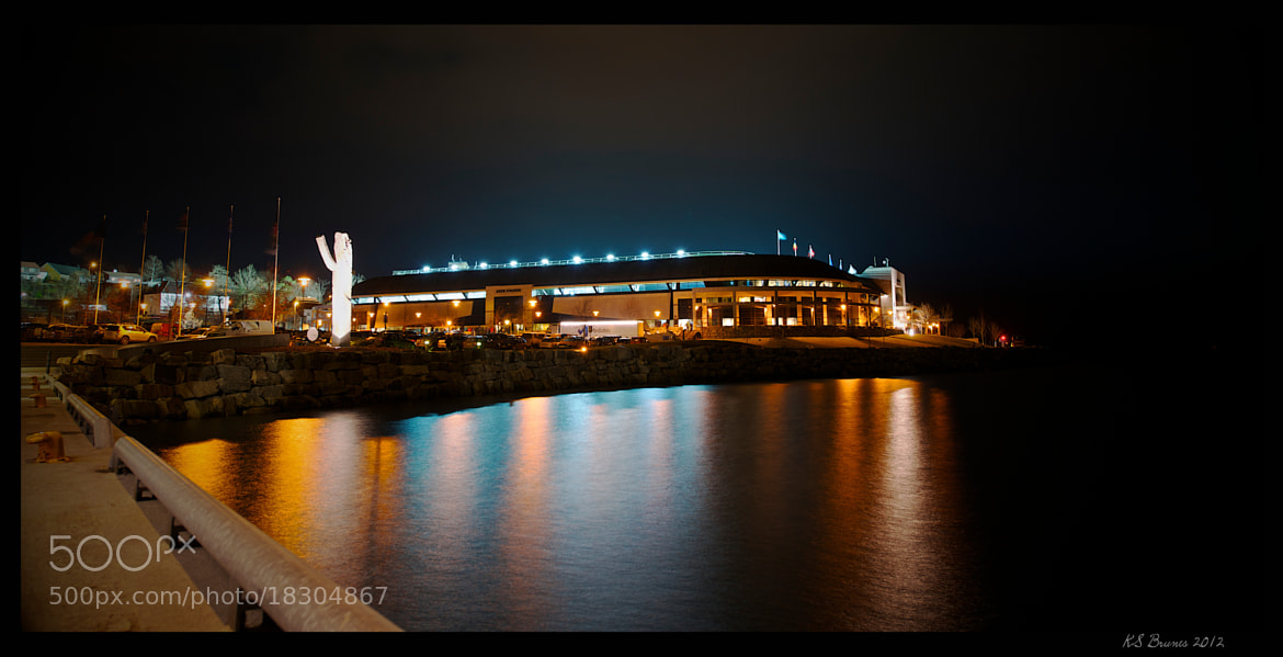 Photograph Aker Stadion by Kjell Stian Brunes on 500px