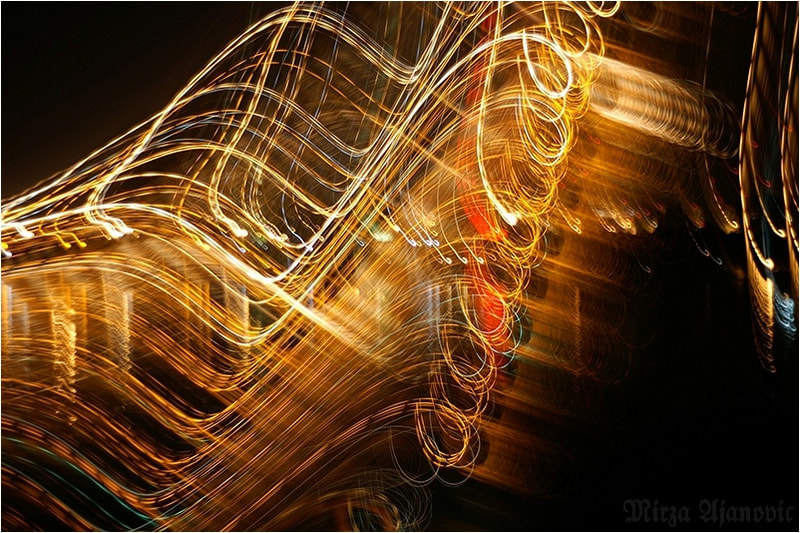 Photograph Painting MUSIC with Light 4U by Mirza Ajanovic on 500px