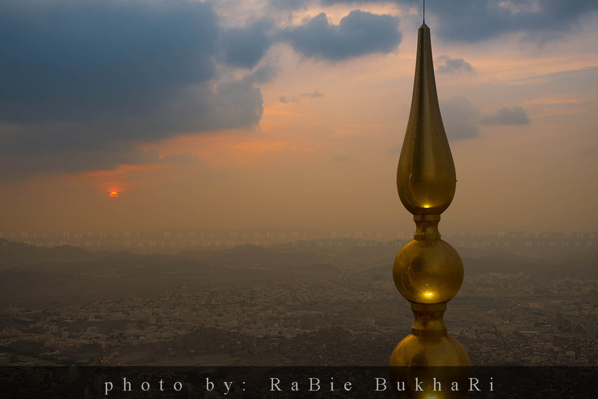 Photograph sunset in Makkah by RaBie Bukhari on 500px