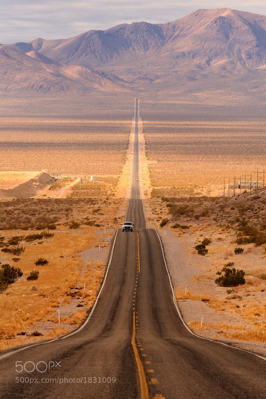 Photograph Long desert highway by Glenn Nagel on 500px