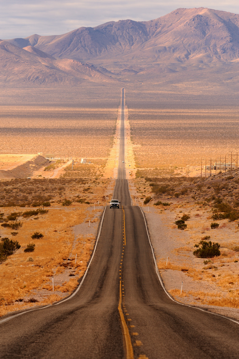 Photograph Long desert highway by Glenn Nagel on 500px