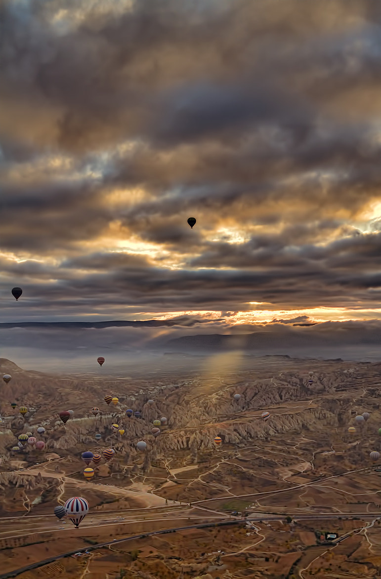 Photograph Ballooning Over Cappadocia, Turkey by Andrew Barrow LRPS on 500px