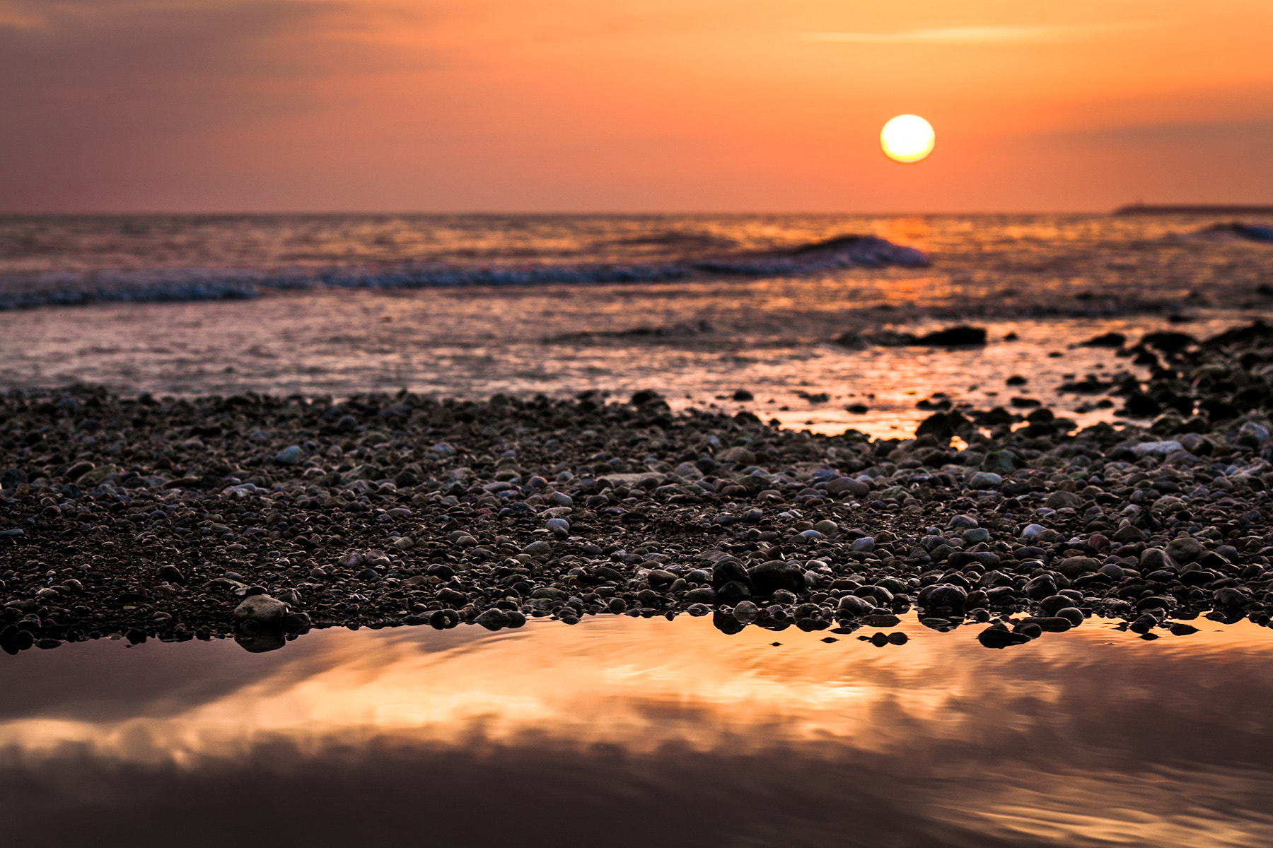 Photograph Sitges Sunset by Roger Uceda Molera on 500px