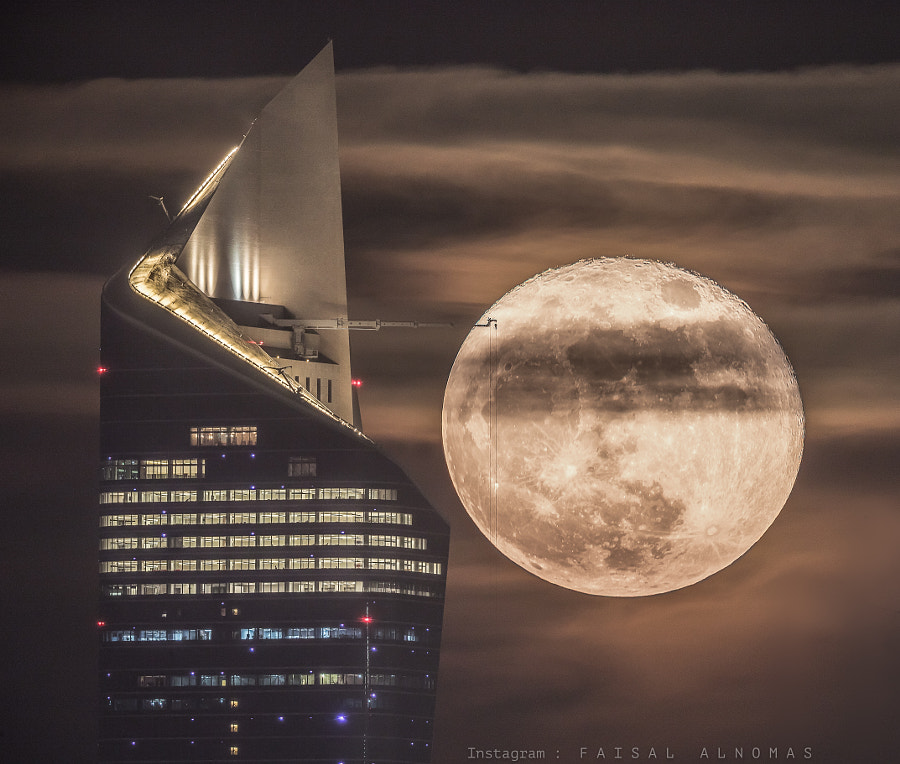 Super Moon by Faisal ALnomas on 500px.com