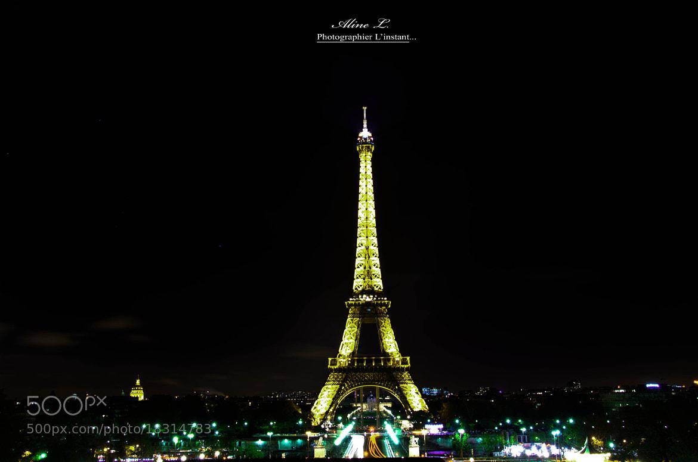 Photograph La Tour Eiffel, la plus belle dame de France by Aline -L on 500px