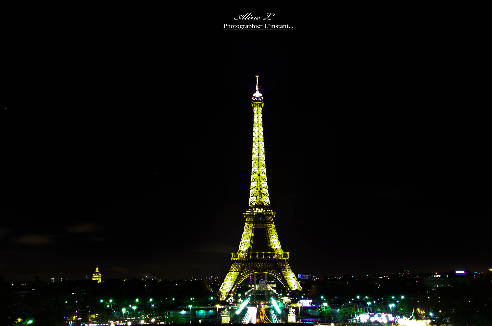 Photograph La Tour Eiffel, la plus belle dame de France by Aline -L on 500px