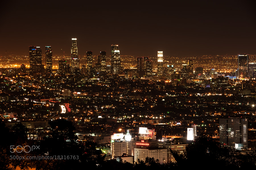 Photograph Los Angeles After Dark by Evgeny Tchebotarev on 500px