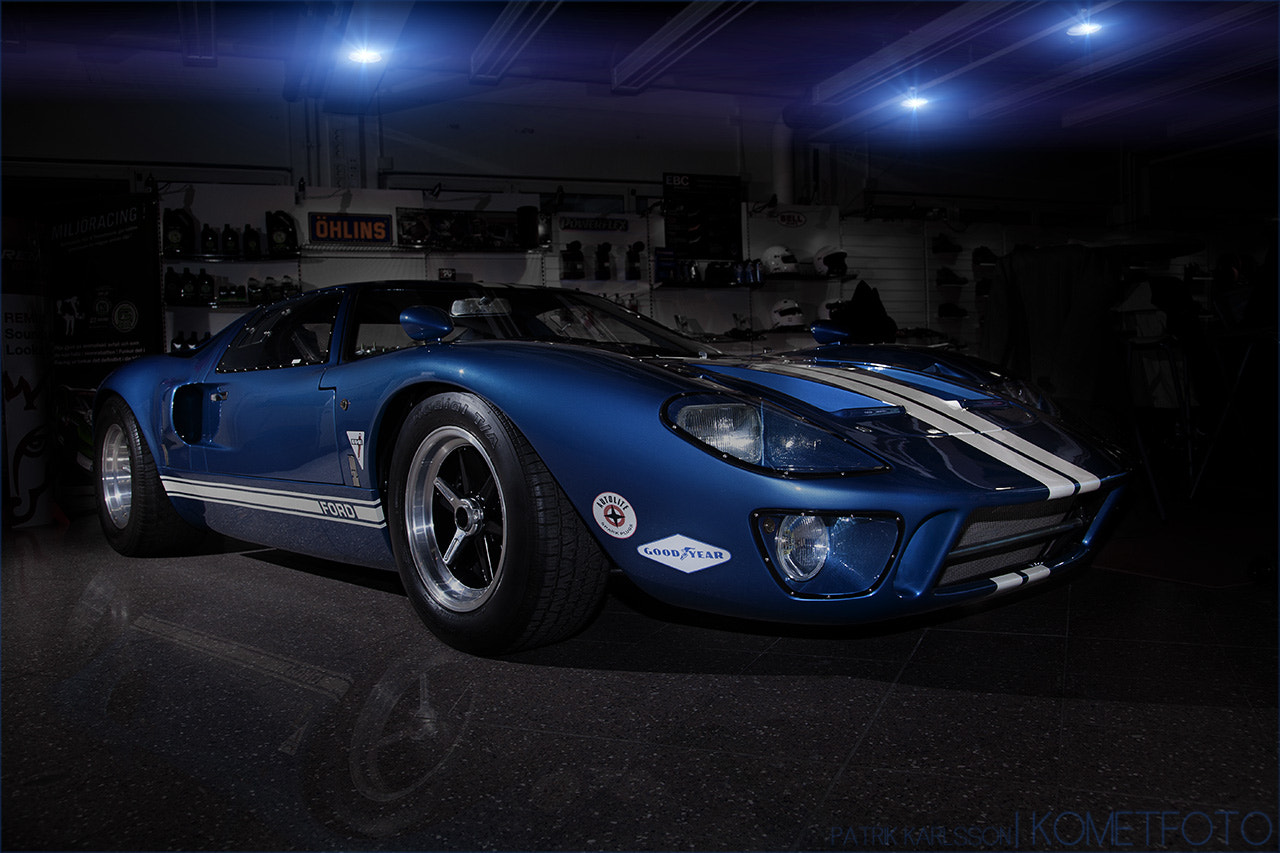 Photograph Ford GT-40 by Patrik  Karlsson on 500px