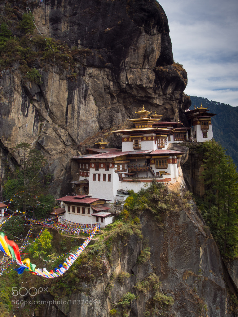 Photograph Tiger's Nest Monastery by Keith Muir on 500px