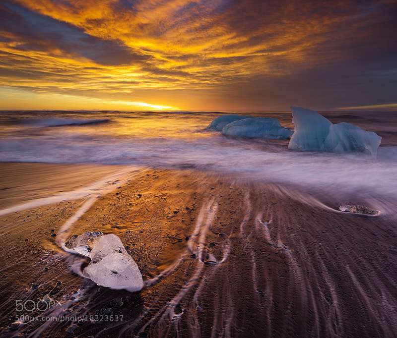 Photograph Ice Surf by Rainer Mirau on 500px