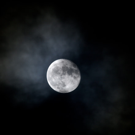 super moon, Canon EOS 60D, Canon EF 100-400mm f/4.5-5.6L IS USM