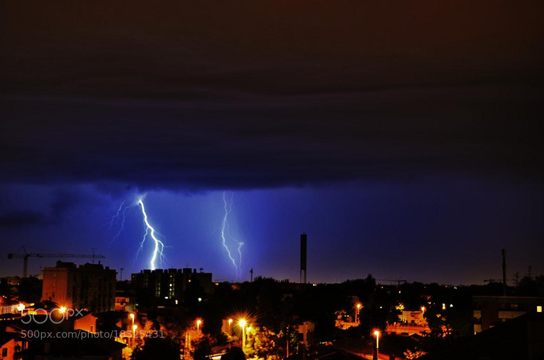 Photograph Lightning by Tiziano Rigo on 500px