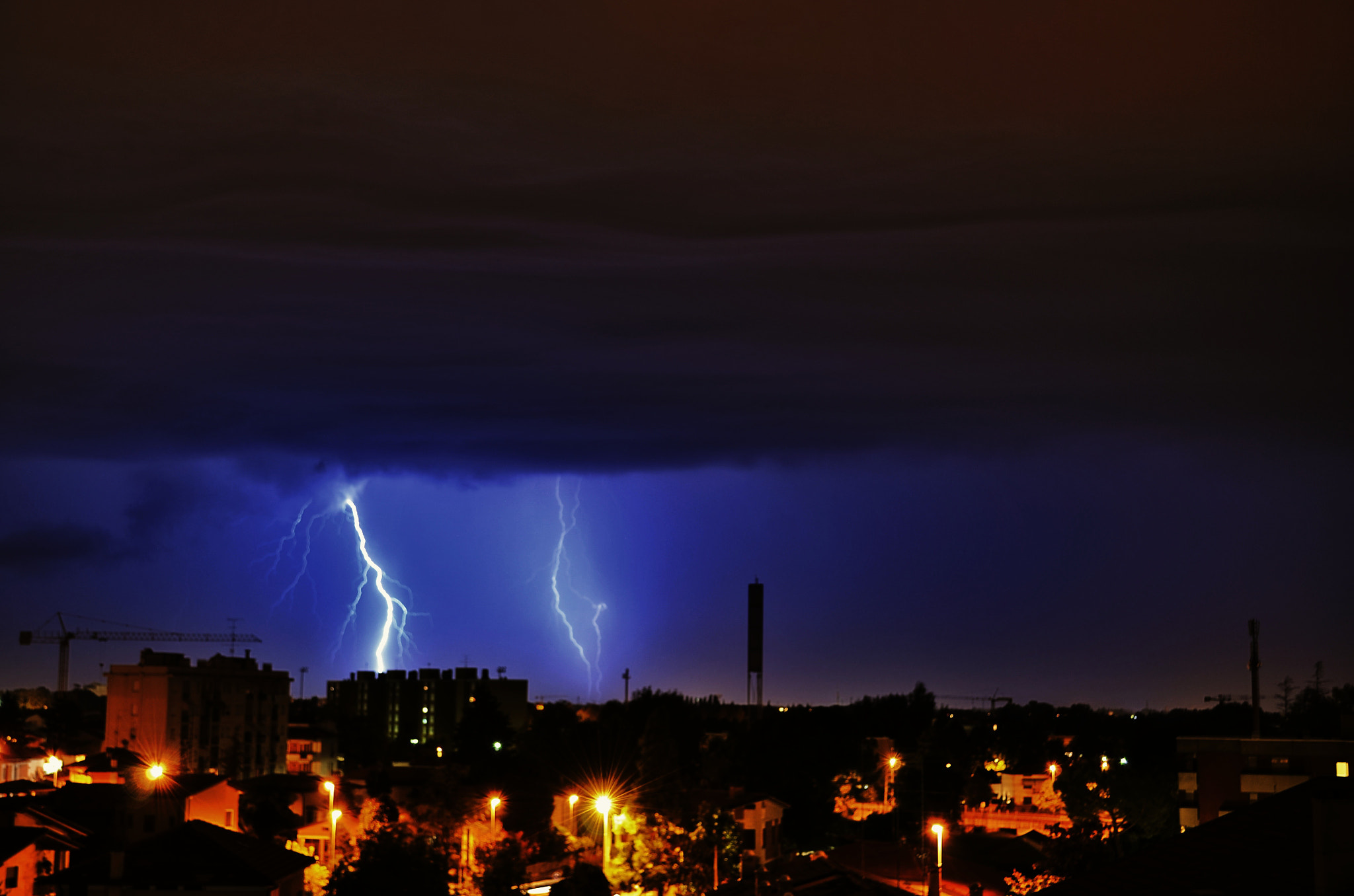 Photograph Lightning by Tiziano Rigo on 500px
