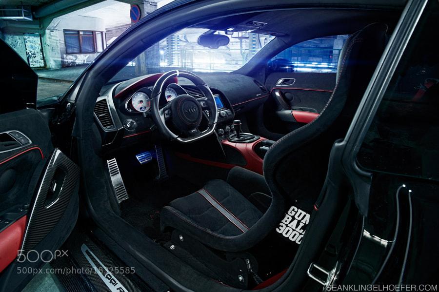 Photograph Jon Olsson's carbon Audi R8 by Sean Klingelhoefer on 500px