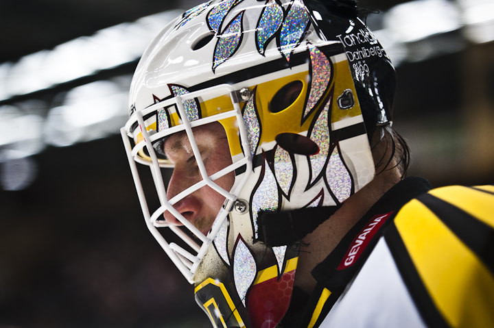 Photograph Johan Holmqvist, Brynäs IF by Andreas Planck on 500px