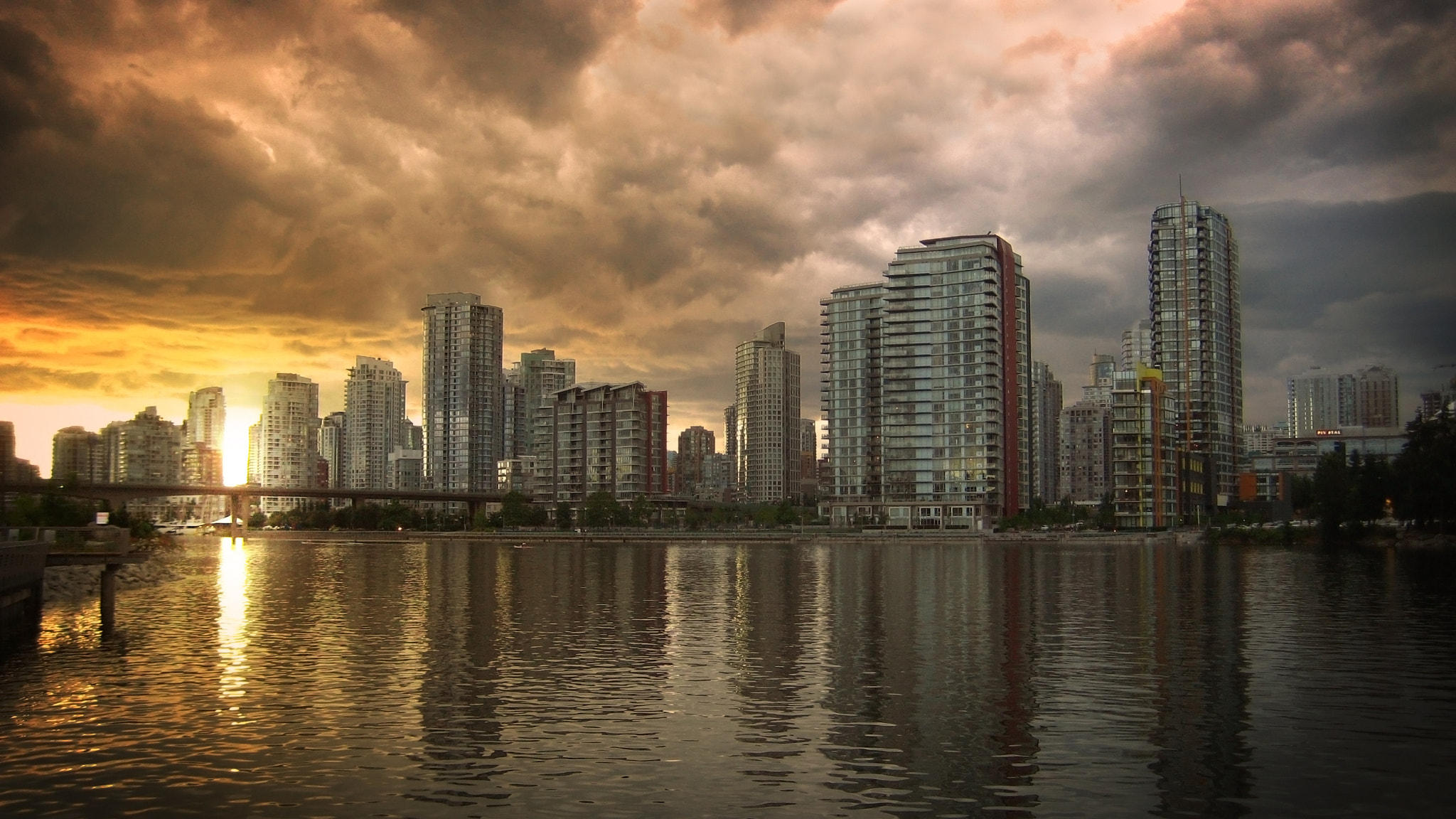 Photograph Vancouver at Dusk by Paul Donnelly on 500px