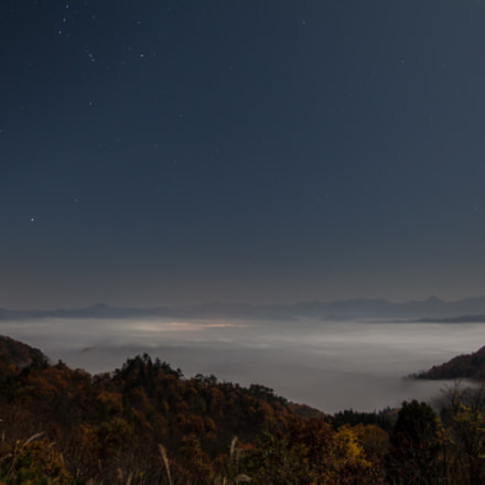 sea of clouds on, Canon EOS 5D MARK II, Tamron SP AF 17-35mm f/2.8-4 Di LD Aspherical IF