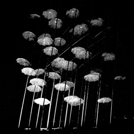 Umbrellas, Canon DIGITAL IXUS 950 IS