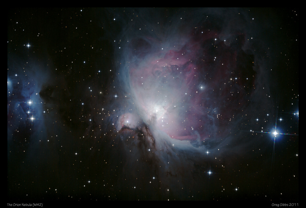 Photograph The Orion Nebula (M42) by Greg Gibbs on 500px
