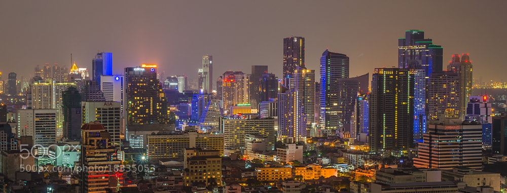 Photograph Bangkok in night by Poom Jantarachart on 500px